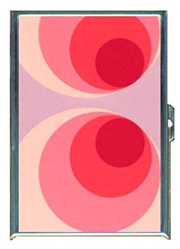 1960年代70年代またはMod壁紙40ステンレススチールIDまたはCigarettesケース( Kingサイズまたは100?mm )