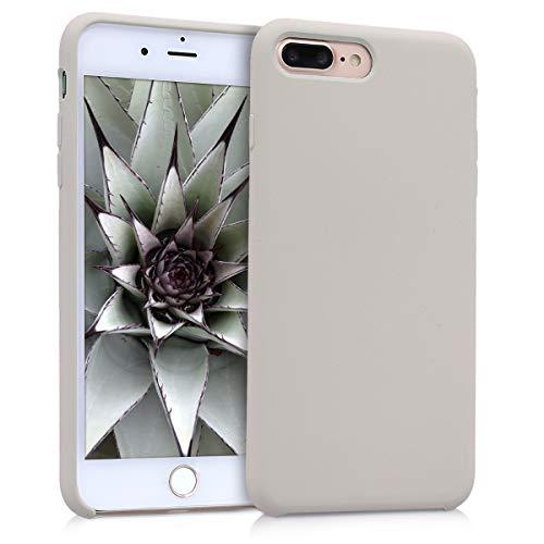 kwmobile Apple iPhone 7 Plus / 8 Plus Hülle - Handyhülle für Apple iPhone 7 Plus / 8 Plus - Handy Hülle in Beige