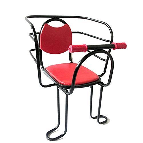 LOVEQIZI Fahrrad Kindersitz, Kinderfahrrad Rücksitz Mit Schutzzaun Armlehne Und Pedal Geeignet 2 Bis 6 Jahre Kindersitz Max 30KG