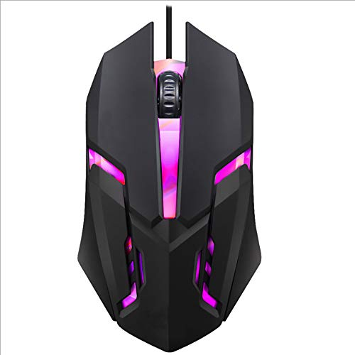 Gaming Mouse Wired, Wired Computer Mice Computer Mouse Optical Sensor - Fastest Gaming Mouse - RGB Optical High Performance Wired Mouse for Laptop, USB Mouse for Windows PC, Laptop, Desktop, Notebook