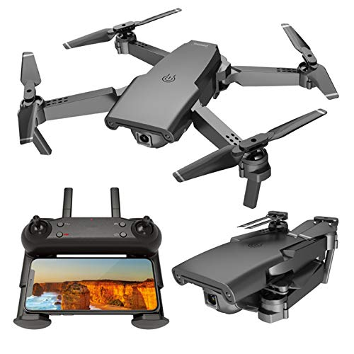 Fcil de llevar Drone, doble cmara Drones plegables para adultos Fotografa area de fotografa de cuatro ejes con la cmara ultra larga duracin de la batera de una sola llave vuelta al reconocimie