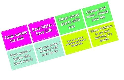 Best water pollution slogans