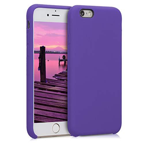 kwmobile Custodia Compatibile con Apple iPhone 6 / 6S - Cover in Silicone TPU - Back Case per Smartphone - Protezione Gommata Porpora