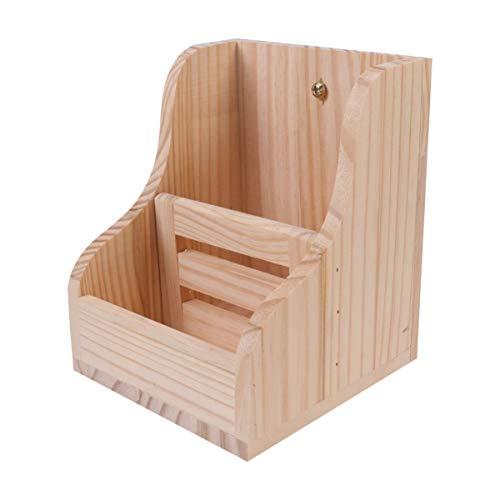 POPETPOP- 1pc Feeder Safe aus Holz langlebige Premium-Haustier liefert Heu Feeder Heu Manger Grasständer Futterablage für Eichhörnchen Kaninchen