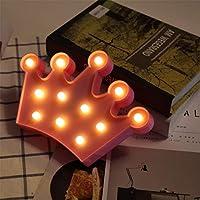 LEDナイトライトバッテリー駆動LEDマーキーサイン装飾ムーンクラウドスターランプ用家の装飾