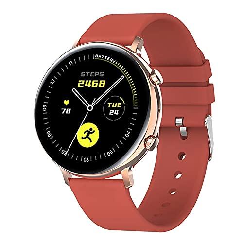 ZGZYL GW33 Reloj inteligente con llamadas Bluetooth, con presión arterial ECG, monitoreo de frecuencia cardíaca, reloj inteligente, rastreador de actividad IP68, resistente al agua