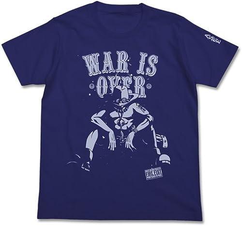 One Piece Ace End of War T-shirt Night bleu (L)