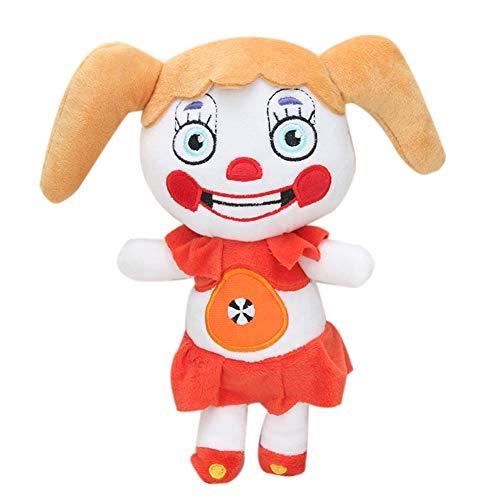 Circus Baby Plush Doll FNAF Plushies Funtime Fre-Ddy Plush Phantom Foxy Plush Five-Nights-at-Fre-Ddy'S Plush FNAF Doll Bonnie Rabbit Foxy Chica FNAF Funtime FNAF Plush Stuffed Doll