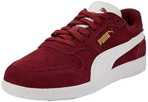 PUMA Unisex-Erwachsene Icra Trainer Sd Sneaker, Rot (Burnt Russet White Team Gold 47), 43 EU