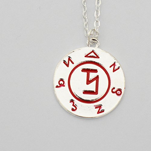 Supernatural Angel Banishing Sigil Pendant Necklace - Castiel, Enochian, Sam Dean Winchester, Demon Angel Protection