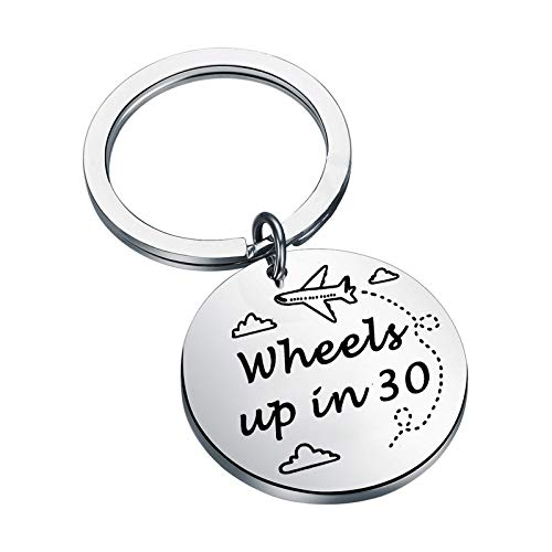 Criminal Minds Inspired Gift Spencer Reid Keychain Criminal Minds Fans Gift Wheels up in 30 Criminal Minds Jewelry (Wheels up in 30)