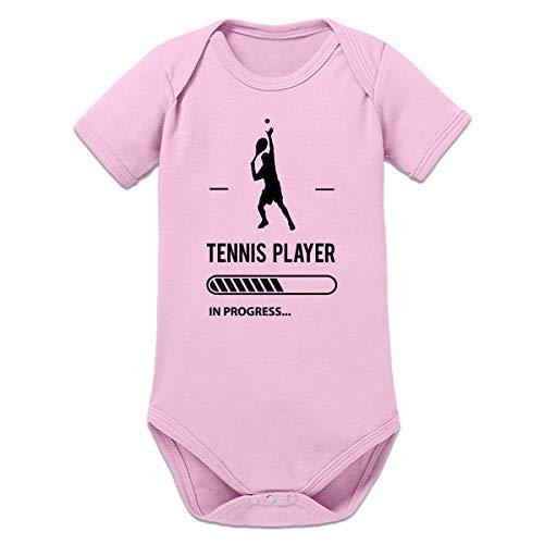 Shirtcity Tennis Player in Progress Baby Strampler by