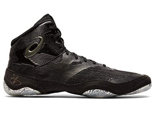ASICS Men's JB Elite IV Wrestling Shoes, 12M, Black/Gunmetal