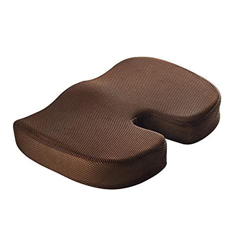 XGXSDPZ Memoria De Gel Asiento De Espuma U Forma Travel Travel Asiento Masaje Masaje Coche Silla De Oficina Proteger Sentado Sentado Almohadas Transpirables Anti