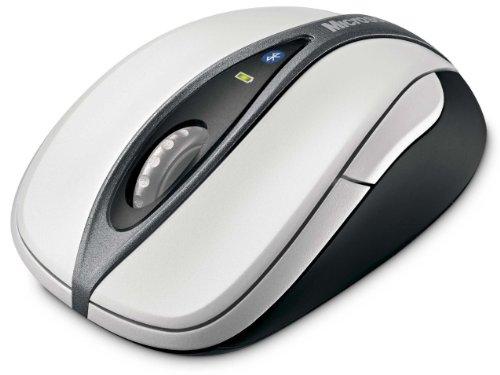マイクロソフト ブルートゥース レーザー マウス Blutooth Notebook Mouse 5000 ホワイト 69R-00004