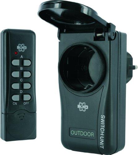 Elro EC85 1 Schalter für Außenbereich mit Fernbedienung