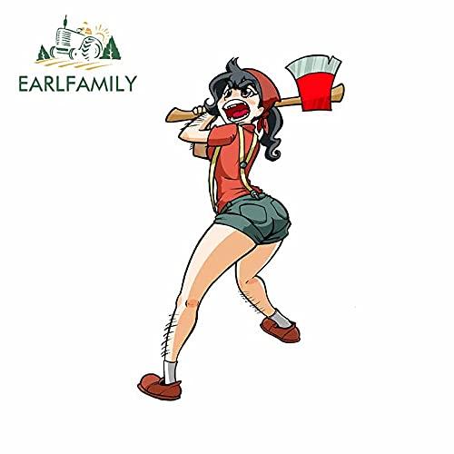 A/X 13 cm 7,8 cm para la niña Columpios el Hacha Motocicleta Anime Pegatinas de Coche Tabla de Surf calcomanía refrigerador Anime gráficos