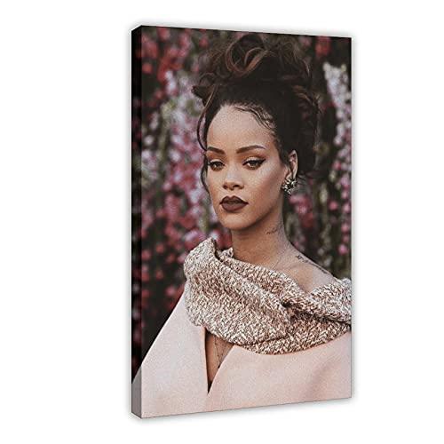 Rihanna - Barbados - Póster de Rihanna Greatest Hits - Póster de cantante 35 - Cuadro para decoración de pared (60 x 90 cm)