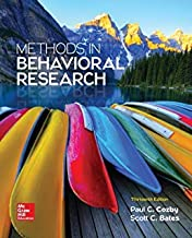 Research Methods For The Behavioral Sciences , 5Th Edition