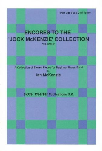 Encores to Jock McKenzie Collection Volume 2, brass band, part 3d, bass cle