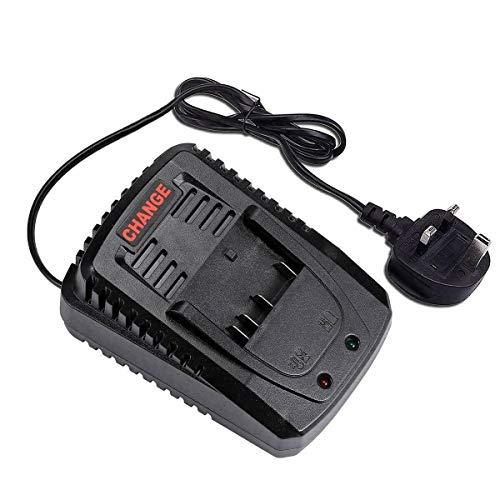 JANRI AL1820CV AL1860CV Replacement Power Tool Charger for Bosch 14.4-18V Lithium Battery BC660 BC1880 BAT609 BAT609G BAT618 BAT618G BAT614 BAT614G BAT607 BAT607G (UK Plug) (not fit NI-CD NI-MH)