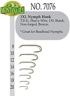 Montana Fly Company 1XL Nymph Hook - 100 Pack