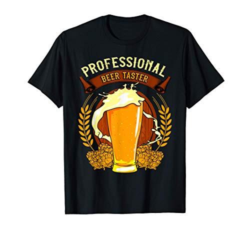Regalo Original Friki Camisetas Cerveza Beer Taster Probador Camiseta