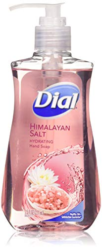 Dial Himalayan Pink Salt & Water Lily Hand Soap with Moisturizer 7.5 Oz. (Pack of 4)