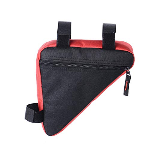 Tivollyff Bicycle Storage Bag Beam Triangle Bicycle Accessories Front Tube Frame Waterproof Bag Frame Saddle Bag for Mountain Bike