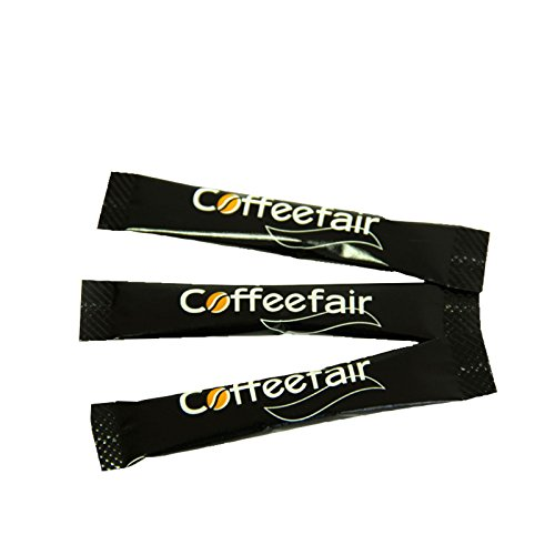 Coffeefair Portions-Zucker Zuckersticks in schlichtem Design, weißer Feinzucker, 1000 x 4g