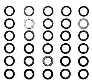 Tamiya 300053586 – Distance Vis Assorties 4 mm, 3 x 10 pièces