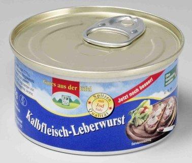 12 Dosen a 125g Dosenwurst, 6 Sorten je 2 Dosen, insgesamt 1,5 kg , Lebensmittelvorrat Konserven - 3