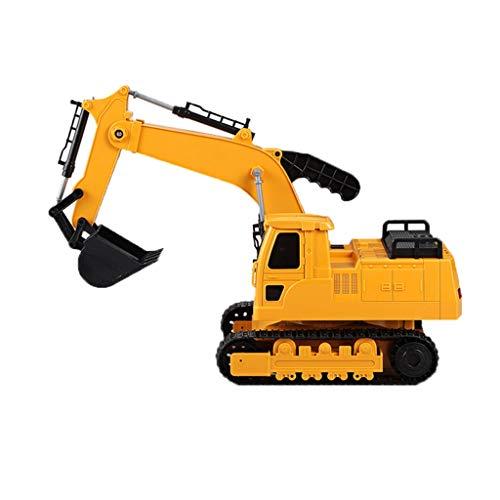 HSJ WYQ- Toy Boy Manual Camión de Juguete Excavadora Excavadora de Coche for niños Ingeniería de Desarrollo Infantil Intelectual Ingeniería de Vehículos