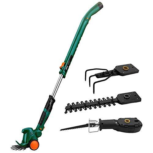 UYZ Cortacésped, cortacésped eléctrico, azada de usos múltiples, Cortar Hierba, aflojar, podar Ramas