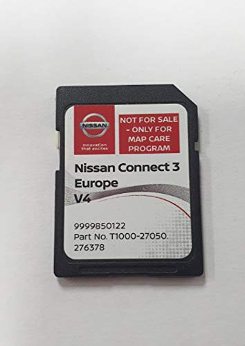 SD Karte GPS Europe 2019 v4 - Nissan Connect 3 LCN2 - (Q1.2018)