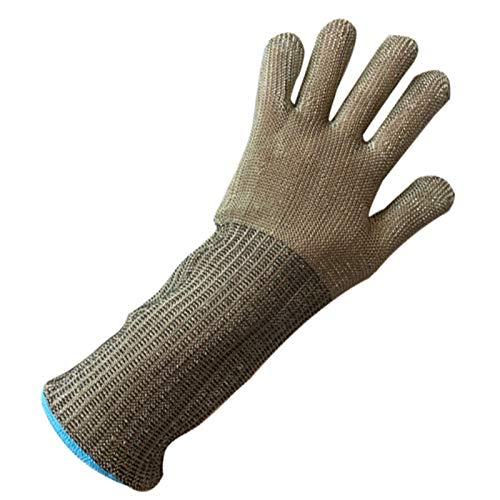 Schnittfeste Handschuhe Extended Arm Anti-Schneidhandschuhe, Sicherheitsarbeiten Handschuhe Für Küchenfischen, Holzschnitzerei, Fleischverarbeitung, Glasschneiden