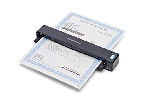 For Sale! Fujitsu PA03688-B005 ScanSnap iX100 Wireless Mobile Scanner for Mac and PC,Black