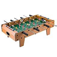 Macro Giant 27 Inch Wooden Tabletop Football Foosball, Party Game, Indoor Outdoor Activity, Mini Ind...