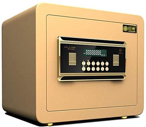 Kluizen Alle stalen antidiefstalbeveiliging Kluis Kluis met toetsenbord om geld te beschermen Sieraden Paspoorten Veilige kast (maat: 25 * 25 * 35cm)