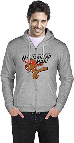 Ninjabread Man Zipper Hoodie XX-Large
