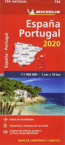 Mapa National España - Portugal 2020 (Mapas National Michelin)