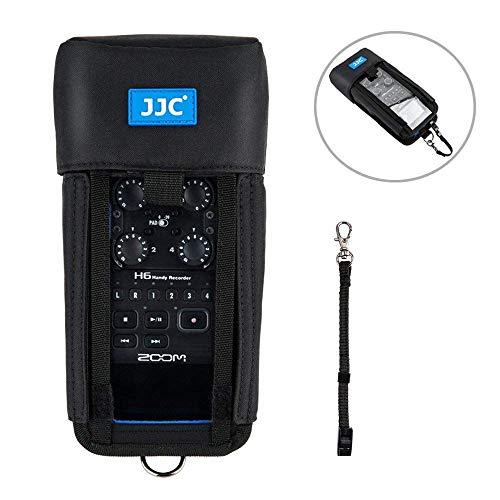 JJC HRP-H6 - Custodia protettiva per registratore Zoom H6, colore: Nero