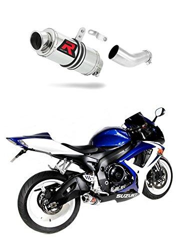 GSXR 600 K6 K7 Escape Moto Deportivo GP I Silenciador Dominator Exhaust Racing Slip-on 2006 2007