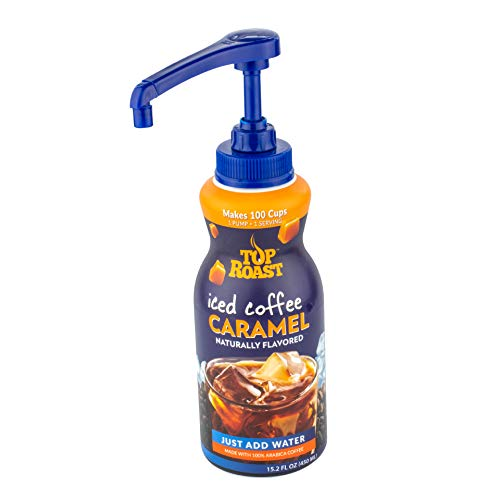 Top Roast CARAMEL Concentrate w/ Microground Liquid Coffee