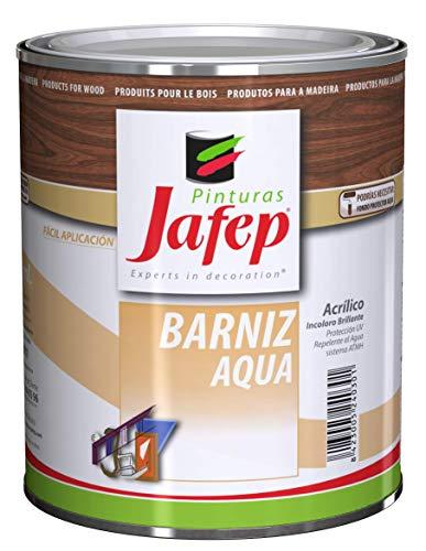 BARNIZ AQUA agua, acrílico incoloro 750 ml JAFEP