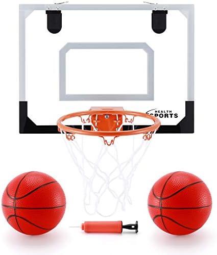 KeepRunning Indoor Mini Basketball Hoop Set for Kids 16 x 12 Basketball Hoop for Door Wall Mobile product image