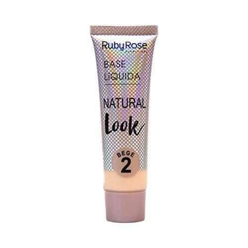 Ruby Rose Base Líquida Natural - Bege 2 - 29ml