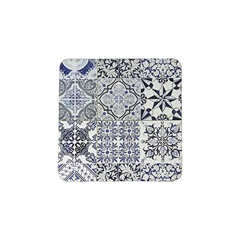 Posavasos, azulejo Barcelona (6), 10 x 10 cm