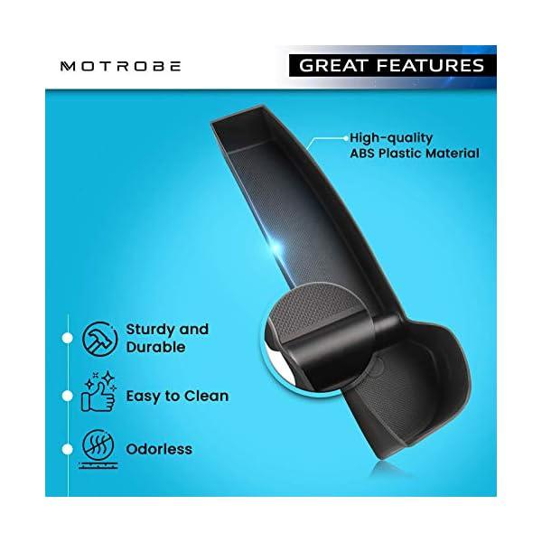 motrobe tesla model 3 door side storage box door handle armrest tray organizer for 2016-2021 model 3 (front door and…