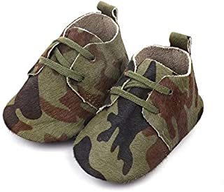 19 4 Genuine Leather Baby Shoes Leopard Print Baby Girls Soft Shoes Horse Hair Boys First Walkers Lace Baby Moccasins
